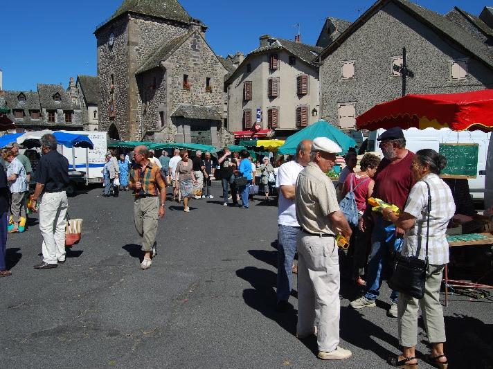 Market Mur de Barrez
