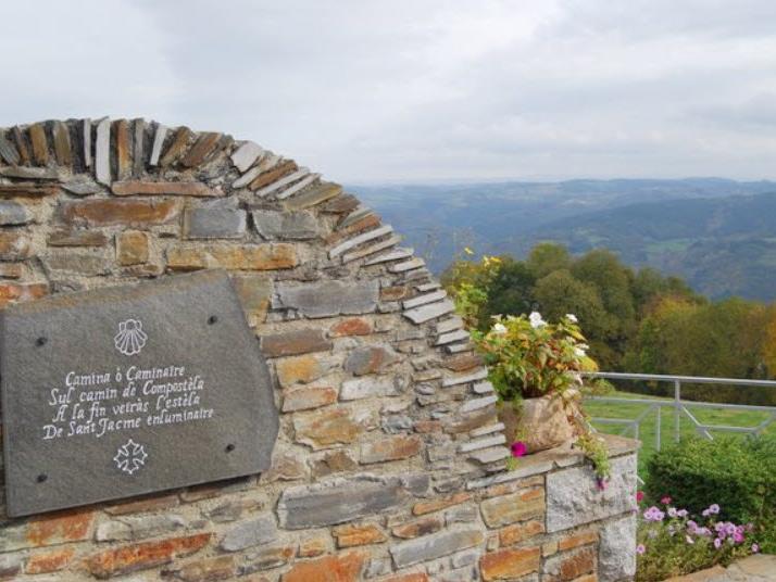 St Jacques de Compostella marker stone